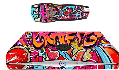 Graffiti Hip Hop de vinilo/Skin Sky HD Box y mando a distancia/controll de vinilo, SK32