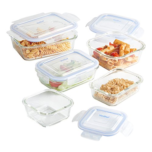 vonshef-5-piece-glass-container-food-storage-set-with-lids