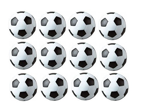 Mesa Fútbol foos Balls Replacements Mini Negro Y