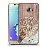 Head Case Designs Samed des Lebens Geometrische Holz Modelle Ruckseite Hülle für Samsung Galaxy S6 Edge+ / Plus