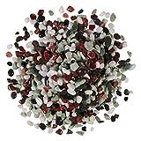 Orbit 4691-15 Aquarienkies, Natur-Kies, 3 x 5 kg, Mixed Weiß/Schwarz/Rot