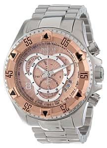 Invicta 11000–Montre de Poignet pour homme, bracelet en acier inoxydable couleur argent