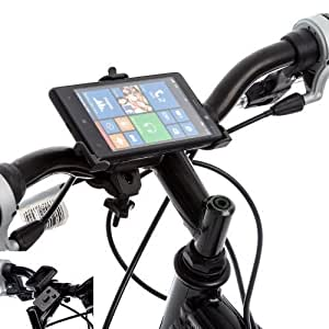 Ultimate Addons Bicycle Handlebar Mount with Quick Release Samsung Galaxy S4 I9500 Phone Holder for Nokia Lumia 820