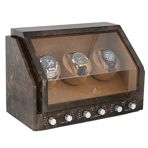 triple-watch-winder-in-dark-burl-wood-premier-range-by-aevitas