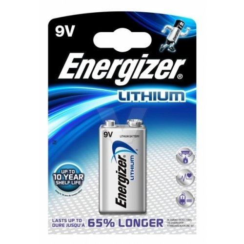 Preisvergleich Produktbild Energizer Ultimate Lithium Batterie U9VL-J 9V-Block Blister, Lithium, 9V