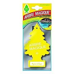 Idea Regalo - Arbre Magique Mono, Deodorante Auto, Fragranza Agrumi di Capri, Profumazione Prolungata fino a 7 Settimane