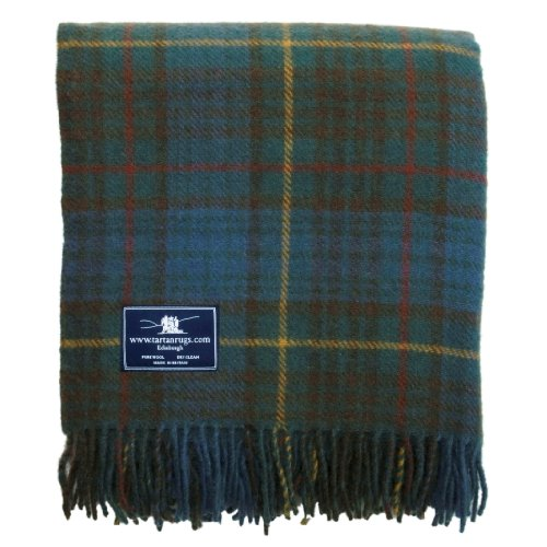 Tweedmill Textiles Antique Hunting Stewart Tartan/Schottenmuster Wolldecke (Tartan-wolldecke)