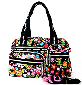 XIAOMEI Colourful Cartoon A4 Lady's Bag L671A for Travel, Holiday, School or College