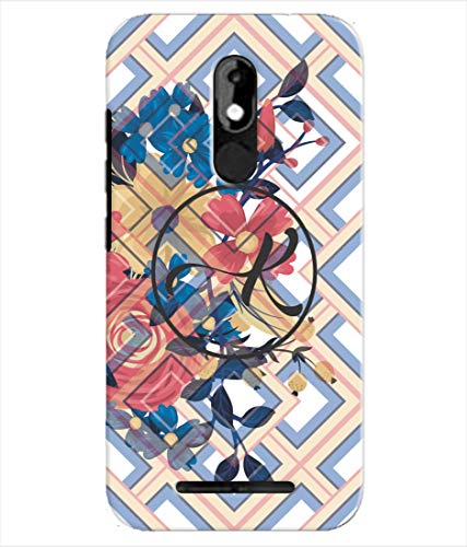 Inktree® Printed Designer Silicon Back Cover for Micromax Selfie 3 - Alphabet K