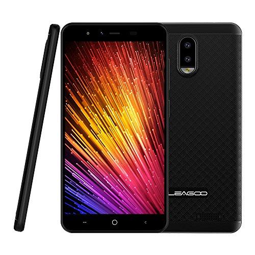 """Leagoo Z7 - 5.0"""" 4G FDD-LTE Smartphone Libres, Android 7.0 Quad Core 1GB+8GB, Smart Wake, Cámaras 5MP+2MP con Delantera 2MP, Soporte VoLte, Dual SIM Teléfono Móvil"""