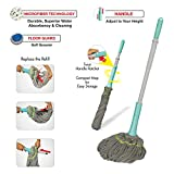 #7: Spotzero Microfiber Cleaning Technology Twist & Squeeze Mop