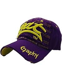 Cappelli Hip Hop Berretto da Baseball con Lettera Ricamata in Cotone Stile  Europeo Classico della Moda 2ae954911f42