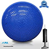 JLL® Inflatable Air Stability Balance Wobble Cushion with Free Pump