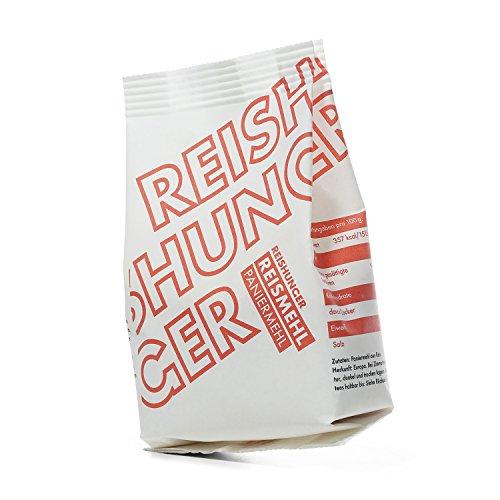Reishunger Reis Paniermehl (300 g) Glutenfrei, Aus grob gemahlenem Reis - Erhältlich in 300 g bis 3,6 kg