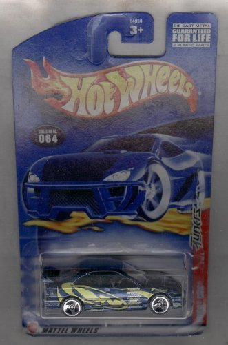 Hot Wheels 2002-064 Honda Civic 2 of 4 Tuners 1:64 Scale by Mattel