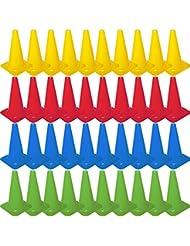 Cawila Markierungskegel L, 40x, 40cm, verschiedene Farben, 00930059