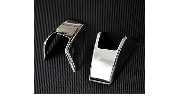 2 x 3d Chrome Super Miroir en acier inoxydable Poign/ée de porte couvertures pour VolvoFH FM FL
