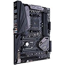 ASUS CROSSHAIR VI HERO - Placa base (compatible con procesadores Ryzen, zócalo AM4, chipset AMD x370, 2 x PCIe 3.0, sonido SupremeFX S1220, NVIDIA 2-Way SLI y AMD CrossFireX)