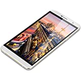 TIMMY M7 Handy ohne Vertrag Octa Core Dual SIM 3G-Smartphone 5.5'' Zoll IPS HD Screen 1GB+8GB 1.3GHz Android 4.4 Dual Kameras GPS OTG Smart Wake Gestures Weiß + Silver Rahmen