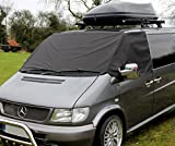 Mercedes Benz Vito Windschutzscheibenabdeckung Schwarz Außen Frost Wickelvorhang
