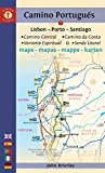 Camino Portugués Maps: Lisbon - Porto - Santiago / Camino Central, Camino de la Costa, Variente Espiritual & Senda Litoral (Camino Guides) (English Edition)
