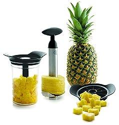 Lacor 60393 Messer und Schäler Set F/Ananas