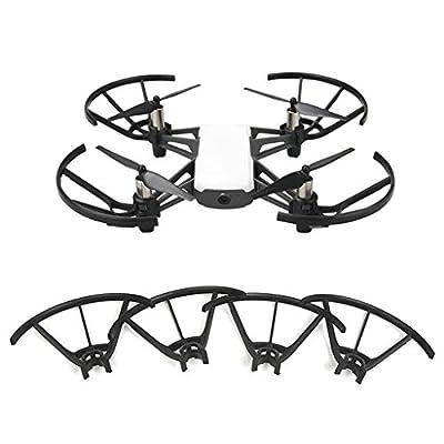 Dabixx Propeller Protectors, 4 Pieces/Set Propeller Guards Prop Protectors for DJI TELLO Drone Accessories