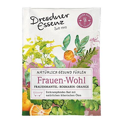 """Gesundheitsbad """"Frauen-Wohl"""" 60g für 1 Vollbad Dresdner Essenz Badezusatz Rosmarin Orange Frauenmantel Aromabad"""