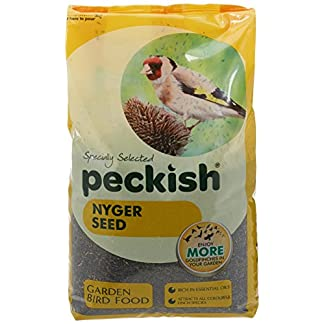 Peckish Nyjer Bird Seed for Wild Birds, 2 kg 12
