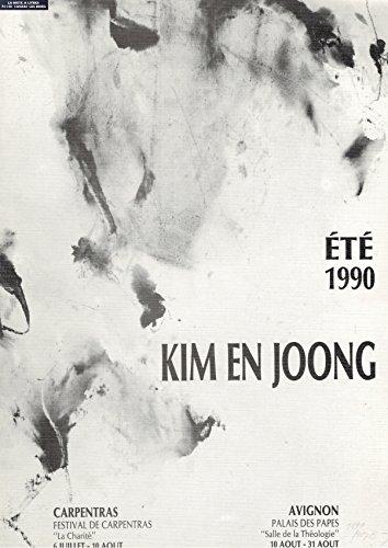 Kim En Joong / Art Contemporain sacré et religieux / Peintures et Dessins par Festival de Carpentras / La Charité / Avignon / Palais des Papes / Salle de la Théologie