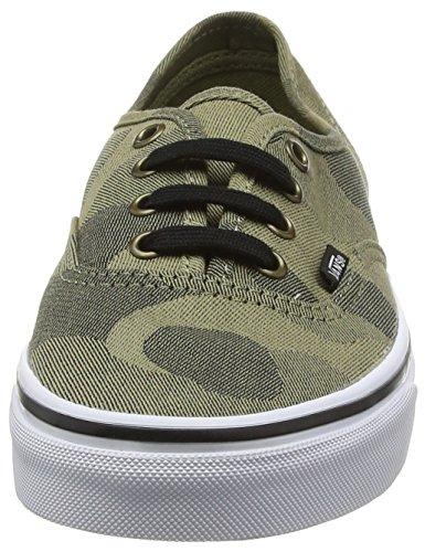Vans raven Sneakers Erwachsene Camo white Authentic Unisex true Grau Jacquard rZ7rwqOxnU