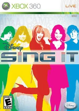 Disney Sing it (nur Software) (Mit Musik von Camp Rock & Hannah Montana) (Disney Sing It Für Xbox)