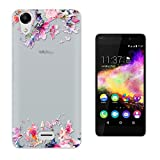 C0353 - Cute Floral Shabby Chic Fleurs Design Wiko Rainbow