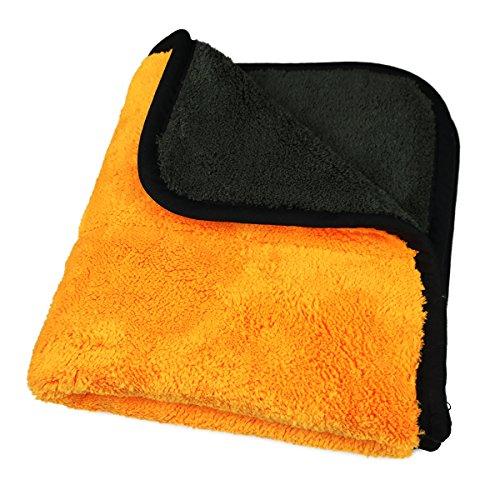 Panno Microfibra Per Asciugare L Auto.Miaoo Asciugamano Professionale In Microfibra Per La Pulizia Dell Auto Panno Per Lucidare E Asciugare L Auto A Doppio Strato Ultra Spesso