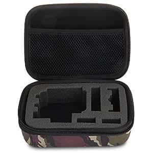 Sac Boîte Housse Etui Caisse Rangement Protection Camo S pour GoPro Hero 2 3 3+
