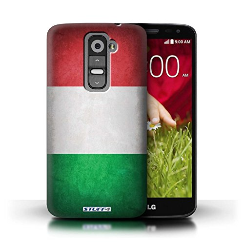 Kobalt® Imprimé Etui / Coque pour LG G2 Mini/D620 / Irlande/irlandais conception / Série Drapeau Italie/italien