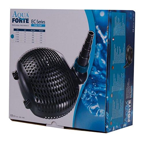 aquaforte-filtro-deEstanque-Bomba-EC-de-3500-35-mh-altura-de-extraccin-3-m-30-W