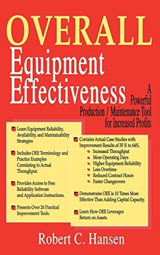 Overall Equipment Effectiveness 1st edition by Hansen, Robert (2011) Paperback