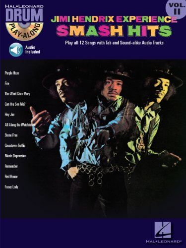 Jimi Hendrix Experience - Smash Hits (Songbook): Drum Play-Along Volume 11 (English Edition) (Musical Smash)