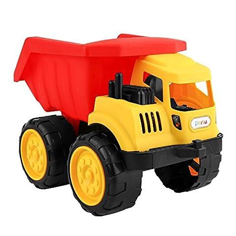 Partu-Véhicule Sans Piles-Camionnette Miniature-Modèle à l'échelle-Jeux de Construction pour Enfant 2-5 ans (Camion)