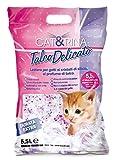 Arena de Silice para Gatos Perfumada Talco Delicado - 5,5 l