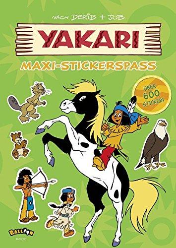 Yakari - Maxi-Stickerspaß