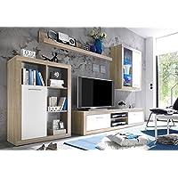 Amazon.it: Bianco - Pareti attrezzate / Soggiorno: Casa e cucina