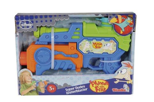 Simba 107046927 - Phineas und Ferb Wasserpistole