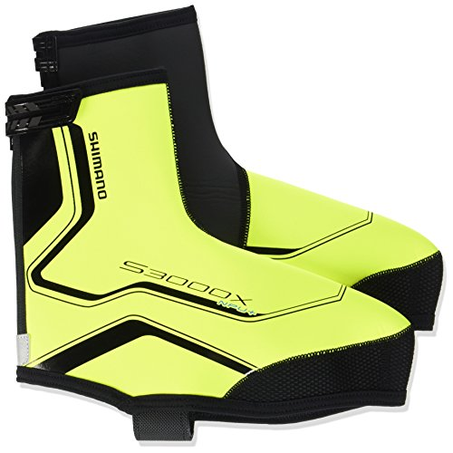 Shimano Couvre-chaussures Trail Npu +/S3000 X Jaune/noir - Jaune fluo
