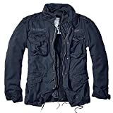 Brandit Herren Jacke M-65 Giant, Blau (Navy), Medium