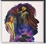 Doctor Who Tom Baker Silhouette Greeting Card DR30