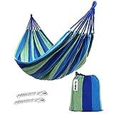 Kottle extérieur doux en coton tissu hamac brésilien Double largeur 2 personne voyage Camping hamac