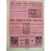 Cartel - Small Poster : CINE MODERNO. ALMAZORA. 1951