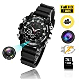 Hidden watch Camera 16GB DVR Cameras Multifunctional Smart Wrist Waterproof Watch IR Night